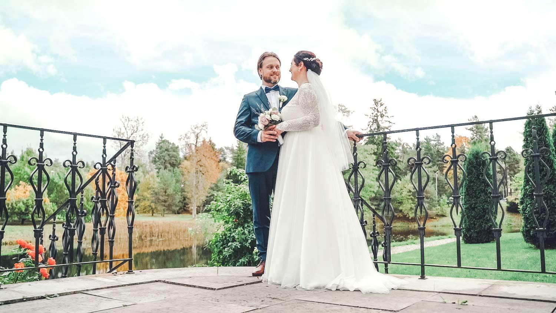 Pruut ja peigmees padise mõisas pulmapildid ja pulmavideo